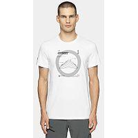 T-Shirt 4F H4Z20-TSM014 - 10S/White - men´s