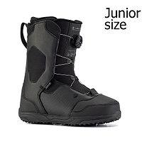 shoes Ride Lasso Boa - Black - unisex junior