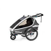 vozík Qeridoo Kidgoo2 Sport - Anthracite Grey