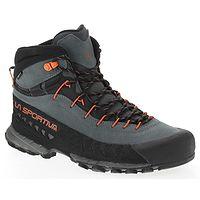 shoes La Sportiva TX4 Mid GTX - Carbon/Flame - men´s