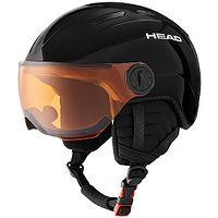 casco Head Mojo Visor - Black - unisex junior