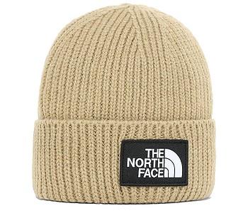 čiapka The North Face TNF Logo Box Cuffed - Hawthorne Khaki