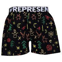 shorts Represent Exclusive Mike - Xmas Spirit/Black - men´s