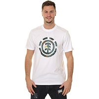 T-shirt Element Water Camo Icon Fill - Optic White - men´s