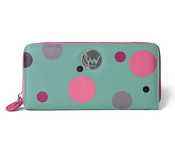 peněženka Vuch Virdy - Green/Multicolor Dots