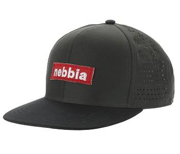 kšiltovka NEBBIA Red Label - Gray
