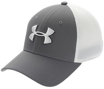 kšiltovka Under Armour Classic Mesh - 040/Graphite/White/White