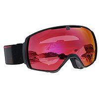 des lunettes Salomon XT One Sigma - Black/Poppy Red