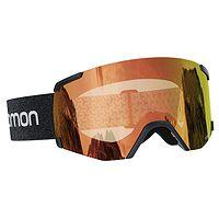 des lunettes Salomon S/View Photo - Black/Red S1-S3