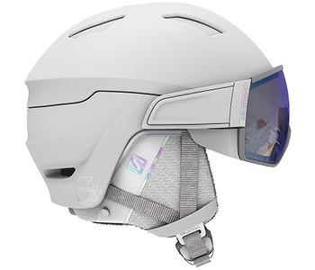 helma Salomon Mirage+ Photo - White/Weather Blue