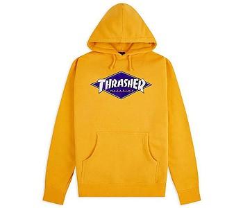 mikina Thrasher Diamond Logo - Gold