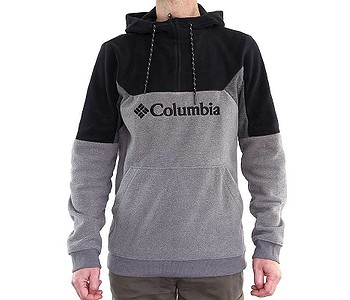 mikina Columbia Lodge II Fleece - 023/City Gray Heather