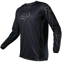 T-Shirt Fox 180 Revn Jersey LS - Black/Black - men´s