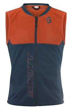 chránič Scott Light Vest Actifit Plus - Dragonfly Green/Hibiscus Red