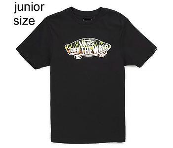 tričko Vans OTW Logo Fill - Black/Slime