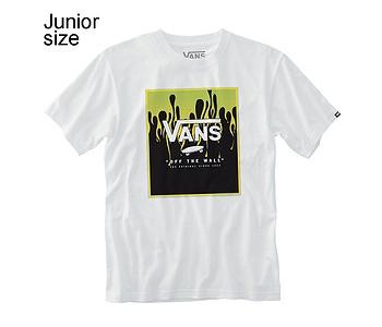 tričko Vans Print Box - White/Slime
