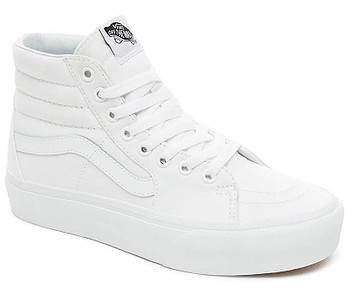 boty Vans Sk8-Hi Platform 2 - True White/True White