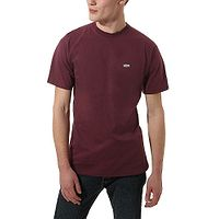T-Shirt Vans Left Chest Logo - Port Royale/White - men´s