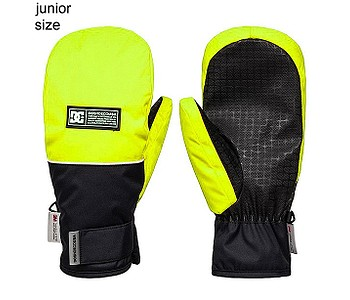 rukavice DC Franchise Mitt - YHJ0/Safety Yellow