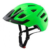 helmet Cratoni Maxster Pro - Lime/Black Matt - kid´s