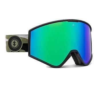 brýle Electric Kleveland - Camo/Brose/Green Chrome