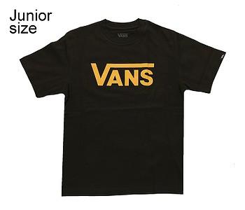 tričko Vans Classic - Black/Saffron
