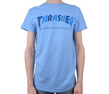 tričko Thrasher Checkers - Carolina Blue