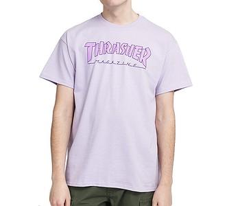 tričko Thrasher Outlined - Orchid