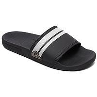 zapatos Quiksilver Rivi Slide - XKKW/Black/Black/White - men´s