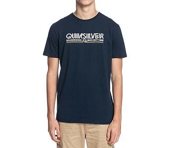 tričko Quiksilver Like Gold - BYJ0/Navy Blazer