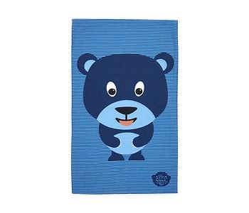 šátek Affenzahn Bobo Bear - Blue
