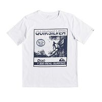T-shirt Quiksilver Temple Of The Dog - WBB0/White - boy´s