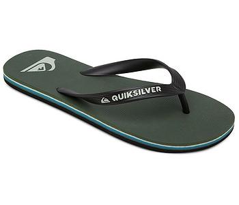 žabky Quiksilver Molokai - XKGB/Black/Green/Blue