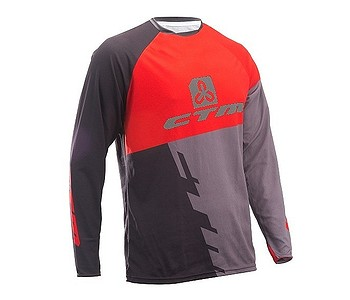 dres CTM Enduro Line LS - Black/Red