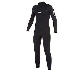 neoprén Quiksilver Series School/Rental BZ GBS 4/3mm LS - KVD0/Black
