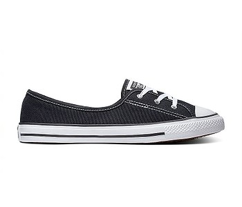 boty Converse Chuck Taylor All Star Dainty Ballet Lace Slip - 566775/Black/White/Black