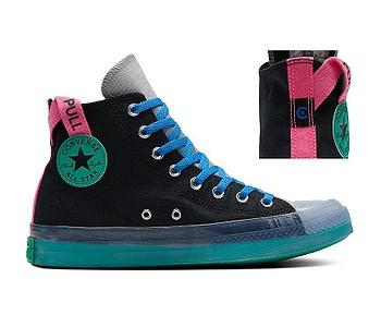 boty Converse Chuck Taylor All Star CX Hi - 170138/Black/Court Green/Hyper Pink