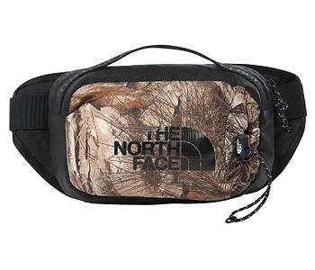 ledvinka The North Face Bozer Hip Pack III L - Kelp Tan Forest Floor Print/TNF Black