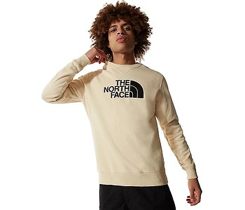 mikina The North Face Drew Peak Crew Light - Bleached Sand