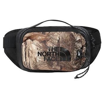 ledvinka The North Face Bozer Hip Pack III S - Kelp Tan Forest Floor Print/TNF Black
