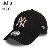 Kappe New Era 9FO CY Colour Essential MLB New York Yankees Child - Black/Light Pink - kid´s