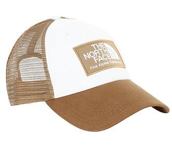 kšiltovka The North Face Mudder Trucker - Utility Brown/Vintage White