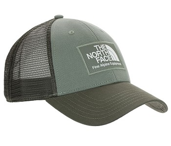kšiltovka The North Face Mudder Trucker - Agave Green/New Taupe Green