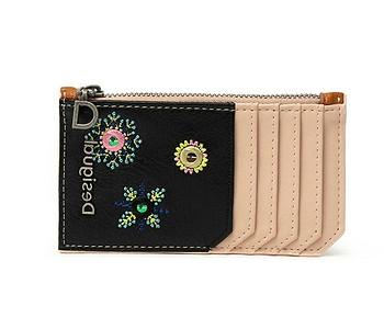 peněženka Desigual 21SAYP55/July Denim - 6008/Beige