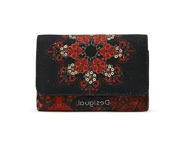peněženka Desigual 21SAYP29/Indopatch Diana - 2000/Negro