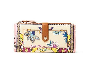 peněženka Desigual 21SAYP54/Pink Boho Pia - 3025/Rosa Palido
