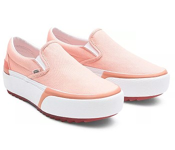boty Vans Classic Slip-On Stacked - Pastel/Peach Pearl/True White