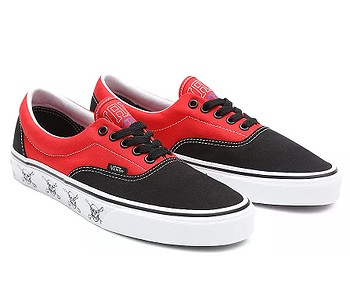 boty Vans Era - New Varsity/Black/High Risk Red
