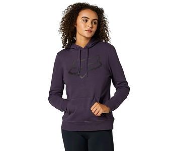 mikina Fox Boundary Pullover - Dark Purple