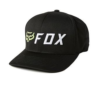 kšiltovka Fox Apex Flexfit - Black/Yellow